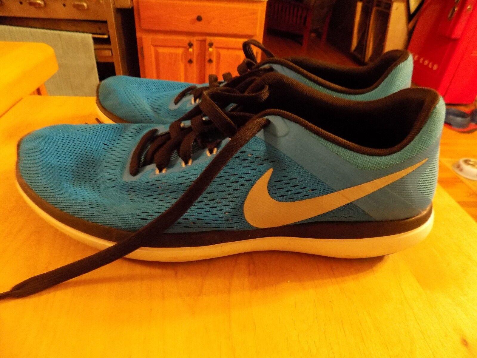 Nike - flex 2016 rn rn rn run blu nero mens scarpe taglia 12 usato   una grande varietà  213c58