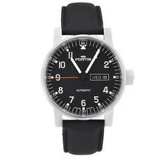 Fortis Spacematic Pilot Day/Date Men's Watch Automatic 623.10.71.L10