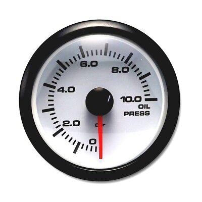 "MOTOR METER RACING Classic Electronic Oil Pressure Gauge 2/"" Include Sensor"