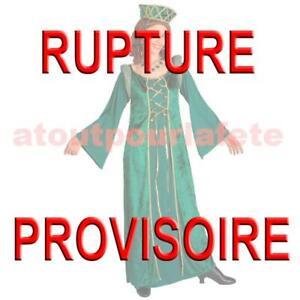 Moyen age Costume femme adulte,Carnaval Déguisement de Princesse médiévale