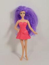 """2011 Hot Pink Fairy 5"""" McDonald's #3 Action Figure Barbie A Fairy Secret"""