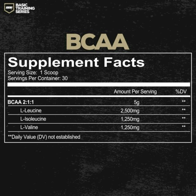 REDCON1 BCAA Basic Training Series 30 Servings Unflavored Branched Chain  Amino for sale online | eBay