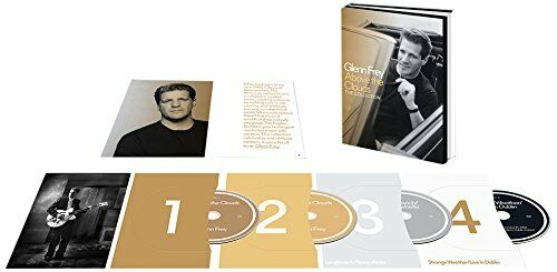 GLENN FREY - ABOVE THE CLOUDS-THE COLLECTION (LIMITED EDITION .)  3 CD+DVD NEW!