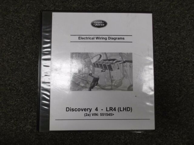 2011 Land Rover Lr4 Electrical Wiring Diagrams Service Repair Manual 5 0l V8