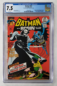 BATMAN #237 CGC 7.5 NEAL ADAMS REAPER HALLOWEEN ISSUE 1971