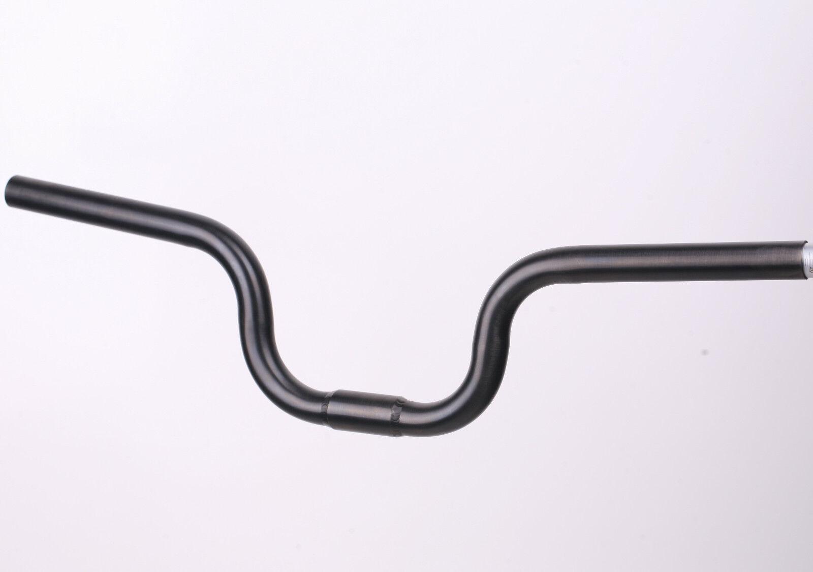 J&L titanio negro 25.4mm M-tipo H-Tipo Riser  Manillar Ajuste Brompton - 2017 2018  venderse como panqueques