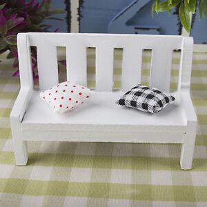 Super Details About Fairy Garden Bench Wooden Chair Doll House Miniature Furniture Ornament Gifts Inzonedesignstudio Interior Chair Design Inzonedesignstudiocom