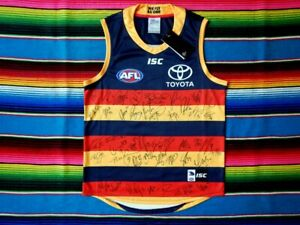 Signed-2019-ADELAIDE-CROWS-AFL-Guernsey-Club-Issued-COA-Jersey-Jumper