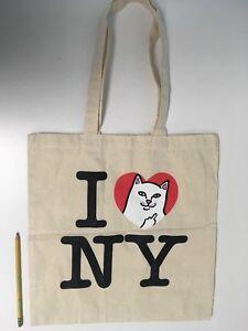 f60cfd6c52fd I ❤ NY Rip N Dip Tote Bag Nermal Cat Middle Finger I Love NY   eBay