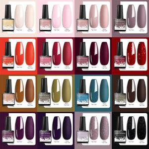 246 Colores Soak Off Esmalte Gel de uñas UV LED Base Capa Superior Barniz para Uñas satisfacer a través de