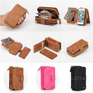 BRG-Magnetic-Detachable-Leather-Card-Wallet-Case-Phone-Bag-For-iPhone-Samsung