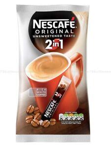 Nescafe Original 2in1 Rich White Coffee UNSWEETENED TASTE ...