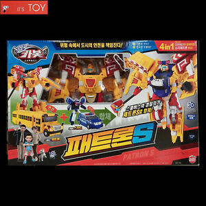 Hello-Carbot-PATRON-S-School-bus-Police-Car-Transformers-Robot-for-Super-Patron