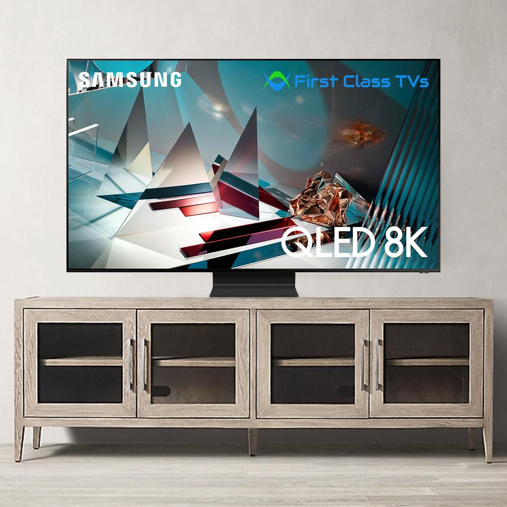 Samsung QN75Q800T QLED 75 8K UHD HDR Smart TV QN75Q800TAFXZA - Titan Black 2020. Available Now for 2669.00