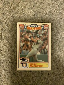 mark mcgwire rare baseball card