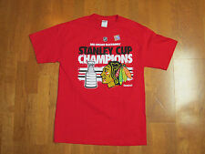 Chicago Blackhawks NHL 2013 Stanley Cup Champions Roster T-Shirt Size Medium NEW