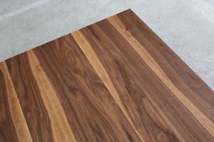 tischplatte platte nussbaum massiv holz neu tisch brett leimholz au auf ma ebay. Black Bedroom Furniture Sets. Home Design Ideas
