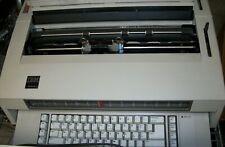 Ibm Wheelwriter 3 Electric Typewriter