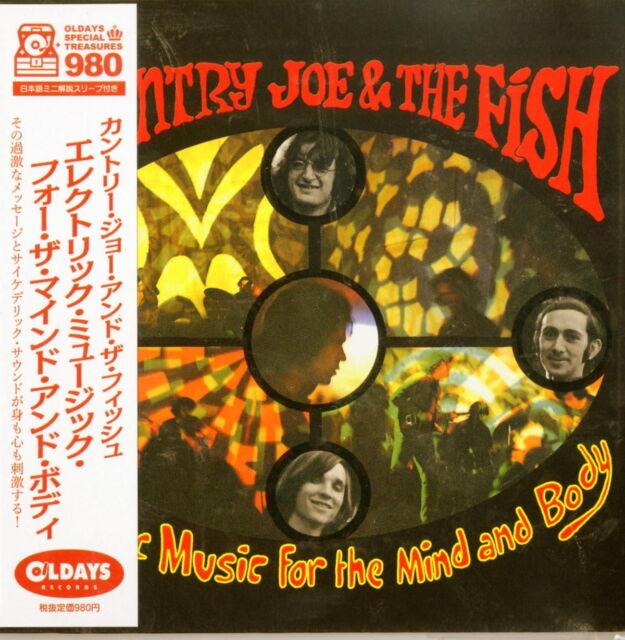 COUNTRY JOE & THE FISH-ELECTRIC MUSIC FOR...-JAPAN MINI LP CD BONUS TRACK B57