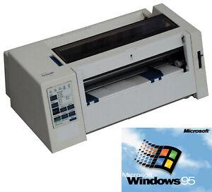 A4 dot-Matrix Dot Printer Lexmark 2380 Single Sheet And Endless for Win 95