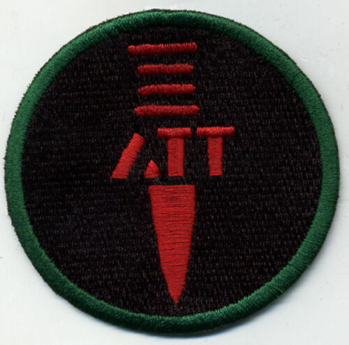 "ATT Anti-Terror Team GI Joe Action Force 3/"" Fully Embroidered Patch"