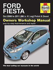 H4907 08-11 Haynes Owners Workshop Car Manual Ford Fiesta Petrol Diesel