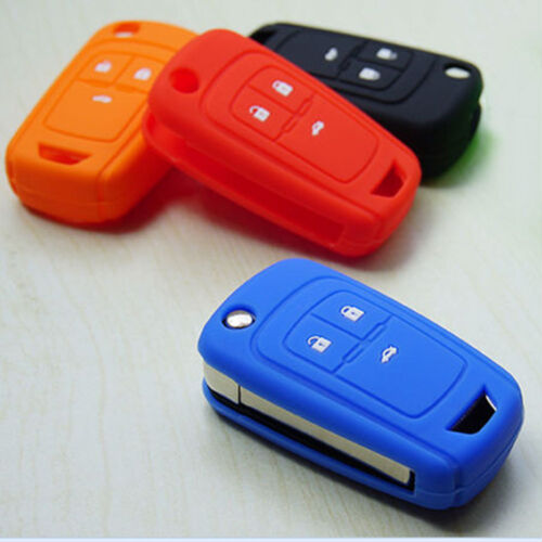 Silicone Car Key Cover Case For Chevrolet Chevy Cruze Spark Onix Volt Aveo