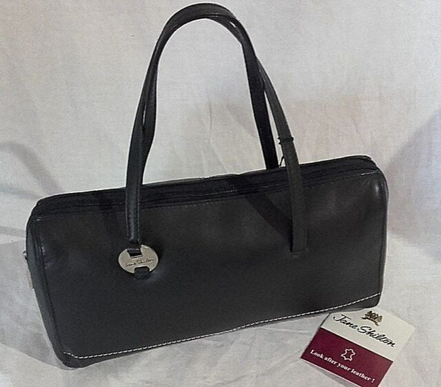 Jane Shilton Leather Handbag Dark Navy. NQP for sale online  db66b8f0859dd