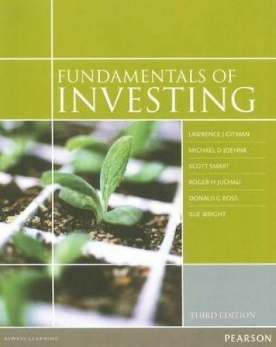 1 of 1 - Fundamentals of Investing by Lawrence Gitman (Paperback, 2011)