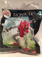 Mcdonald's Happy Meal Toy Bionicle Mistika Toa Tahu lego figure #4 2008. NIP