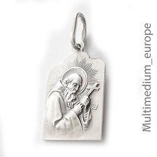 Lauer & Wiedmann Silber Anhänger Bruder Konrad Maria Altötting silver pendant