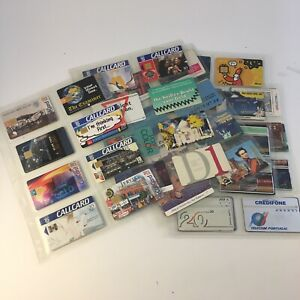 Vtg 90s European Telephone Card Collection Gb Germany Ireland France 50 Ebay