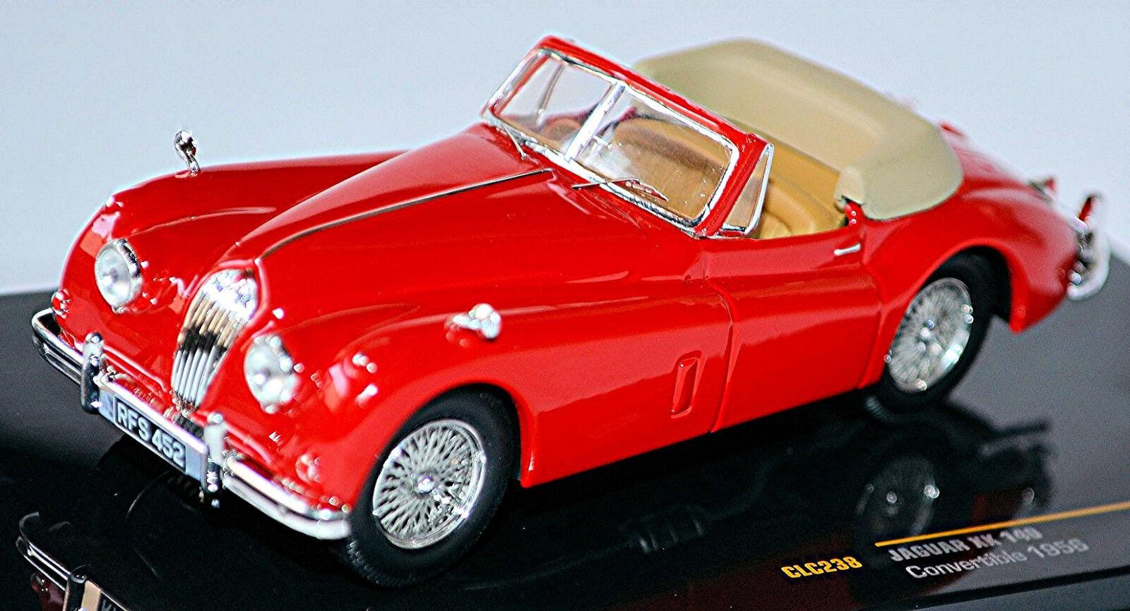 Jaguar Xk 140 Roadster 1954-57 Rojo Rojo 1 43 ixo CLC238