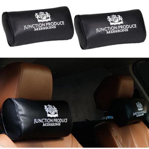 Pair JP JUNCTION PRODUCE VIP Style Car Neck Pillow Headrest Neck Rest Cushion UK