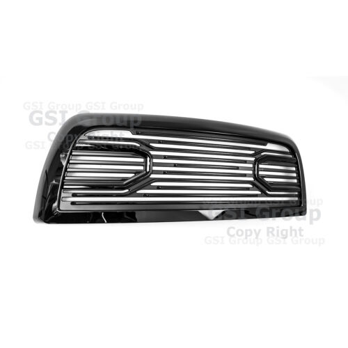 10-18 Dodge RAM 2500+3500 Big Horn Gloss Black Packaged Grille+Shell Replacement