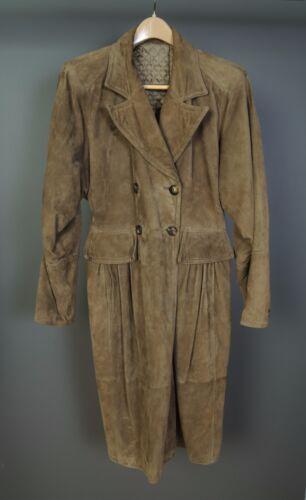 Vintage Valentino Suede Coat - 1970s