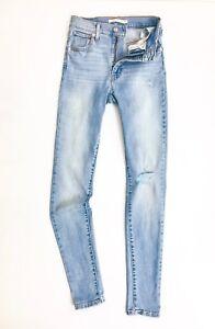 Levis-Mile-High-Women-s-Super-Skinny-Jeans-Light-Blue-Vintage-Soft-Distressed