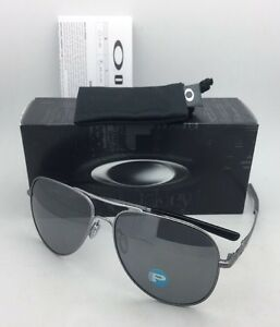 9e122fabf0 Image is loading Polarized-OAKLEY-Sunglasses-ELMONT-L-OO4119-0660-Lead-
