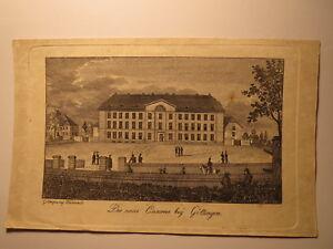 Göttingen Caserne-livret De Famille Feuille Wiederhold Hildesheim 1839 G? Dénigres Mumme?-afficher Le Titre D'origine