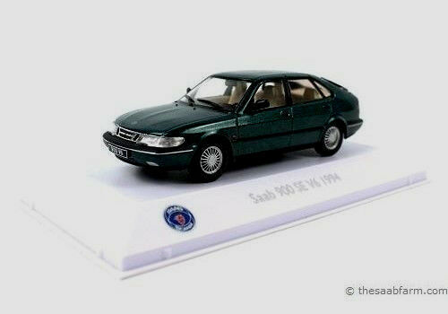 lo último Maravilloso MODELCoche Saab 900 se V6 1994-verde Metálico Escala 1 1 1 43 - Ed. Lim.  servicio considerado