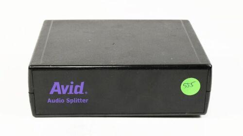 Avid Audio Splitter 0020-03020-01 2-Way Split Stereo 1 Input 2 Output XLR