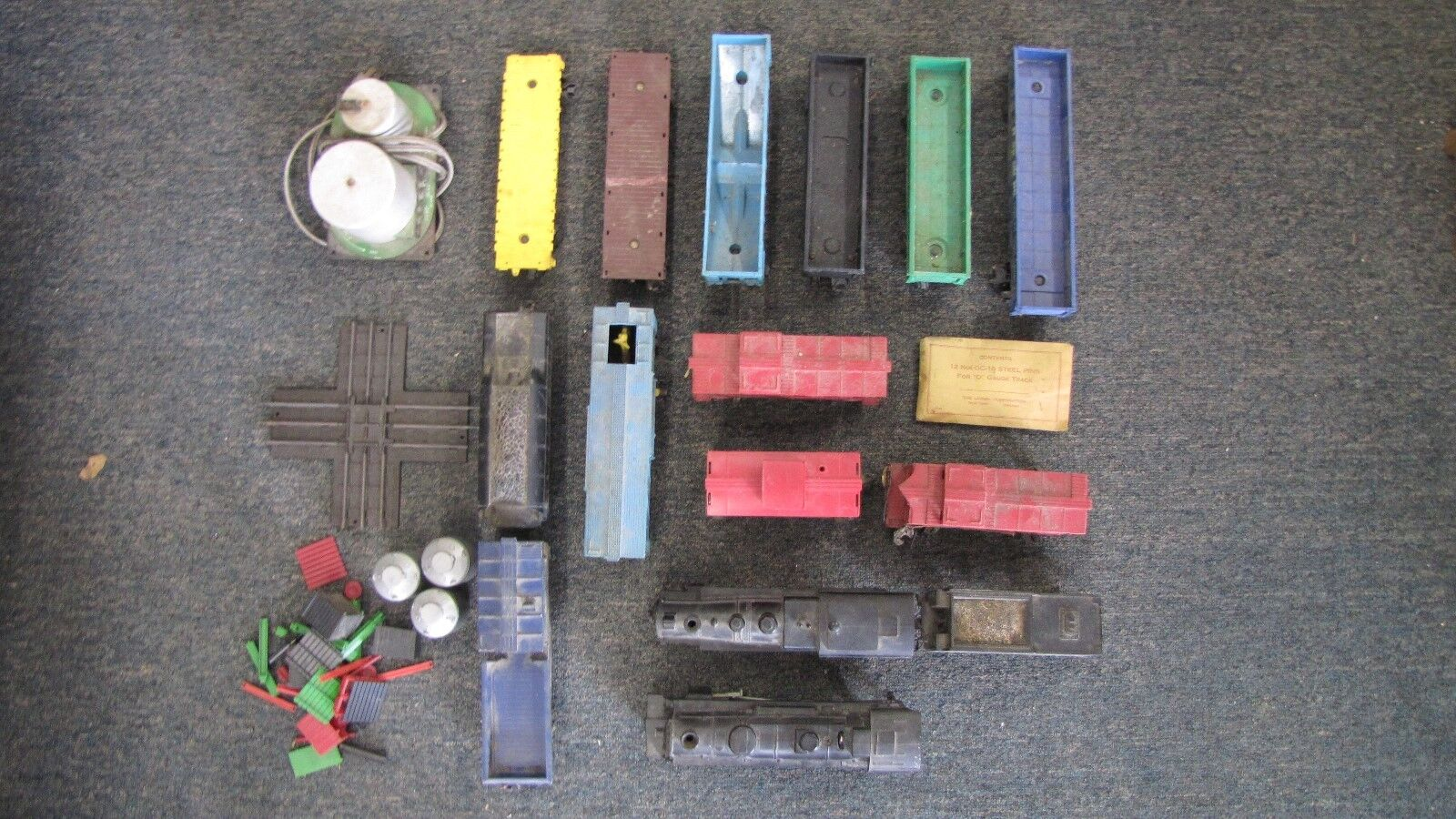 Lionel Model Train Cars and Engines Being sold as Is
