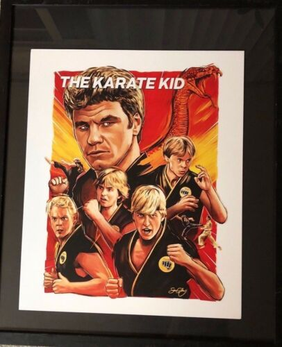 Collectible Pop Art Movie Poster Memorabilia KARATE KID SNATCH FIFTH ELEMENT