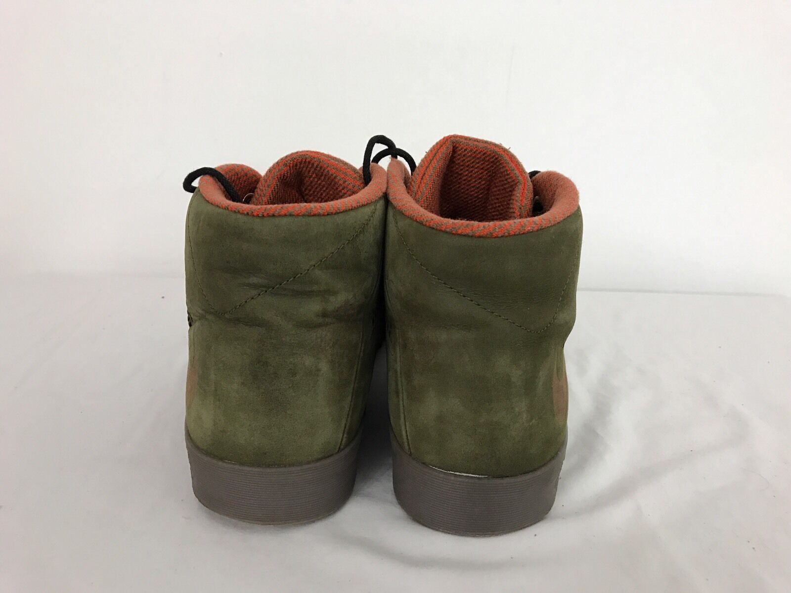 9ccc90a4d27c ... RARE Nike Nike Nike LeBron x NSW Lifestyle Dark Loden Brown Leather Gum  US 12 604826 ...