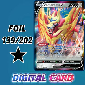 Zamazenta-V-139-202-SwSh-Pokemon-TCG-Online-Digital-Card-foil