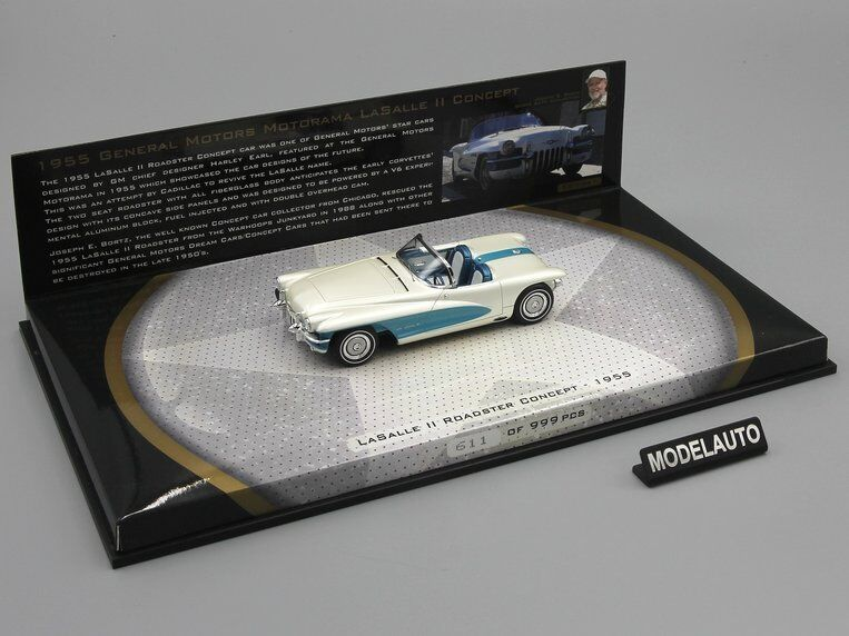 Minichamps 1 43 GMC La Salle Ii Roadster concepto 1955 Bortz Collection
