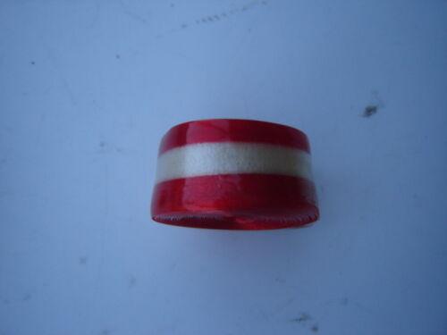 WHITE BENOTTO CELLO TAPE FOR HANDLEBARS NOS NIP RED
