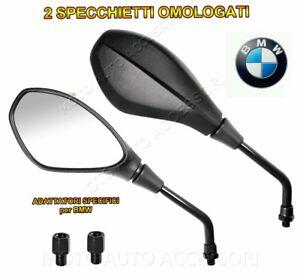 2 ADATTATORI 1,50 MM e CUFFIE SPECCHIETTI SPECCHI per BMW R1200GS 2006
