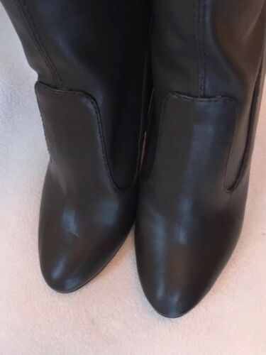 New Nine West Chorus Brown Faux Leather Over the Knee Boots 5 6.5