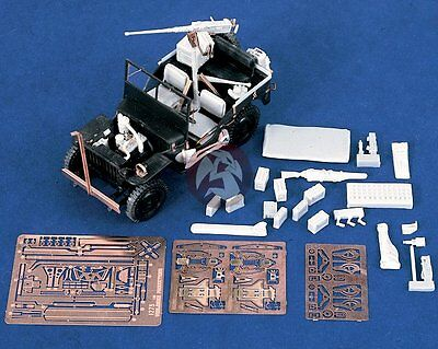 Verlinden 1/35 Willys MB Jeep Super Detail Set (for Italeri) [Resin + PE] 1275